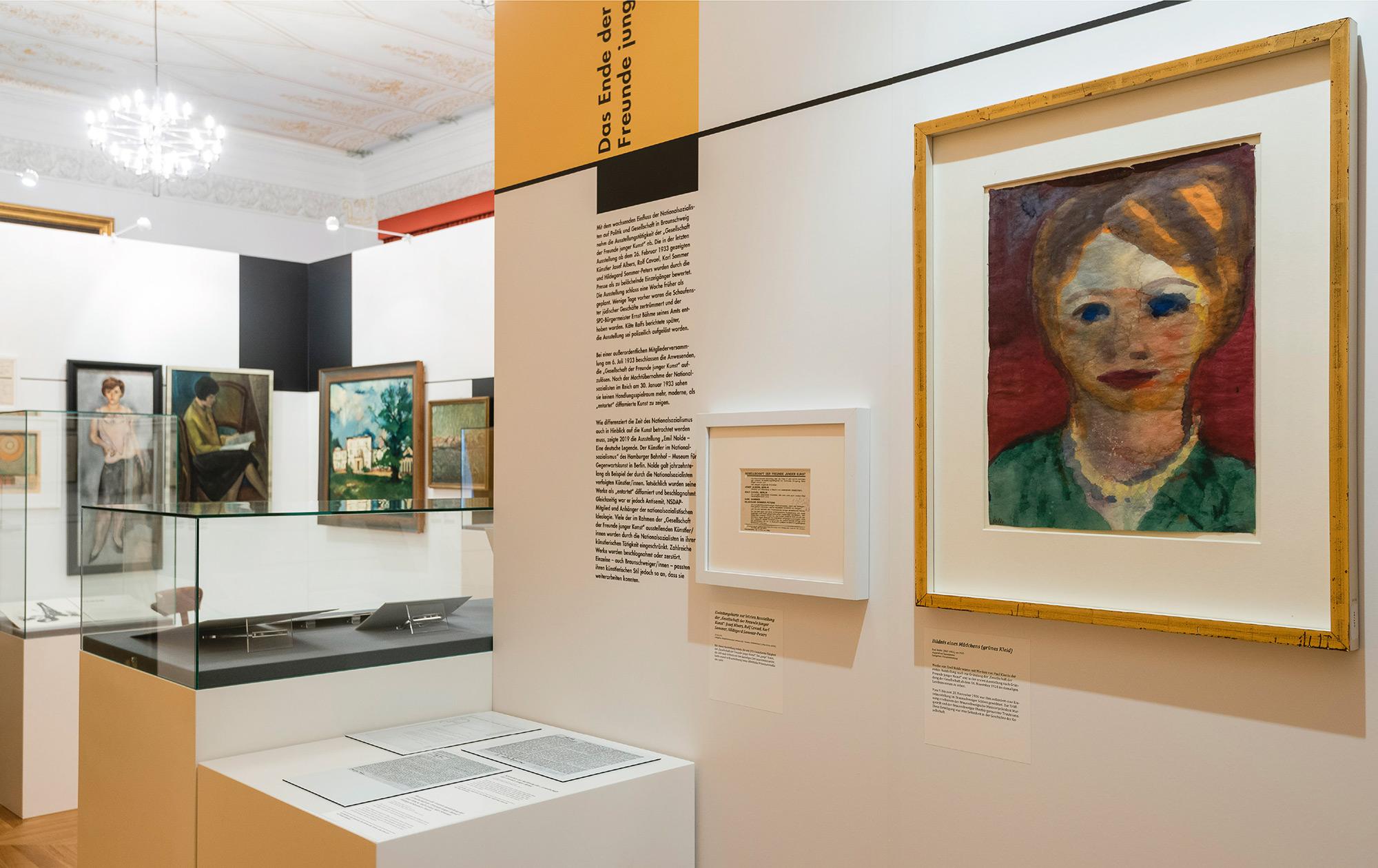 Mila-wall Stellwände in einer Ausstellung zur Klassischen Moderne  im Schlossmuseum Braunschweig