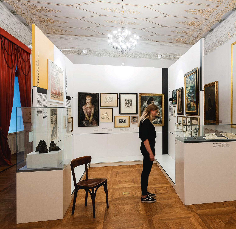 Mila-wall Stellwände und Vitrinen im Schlossmuseum Braunschweig