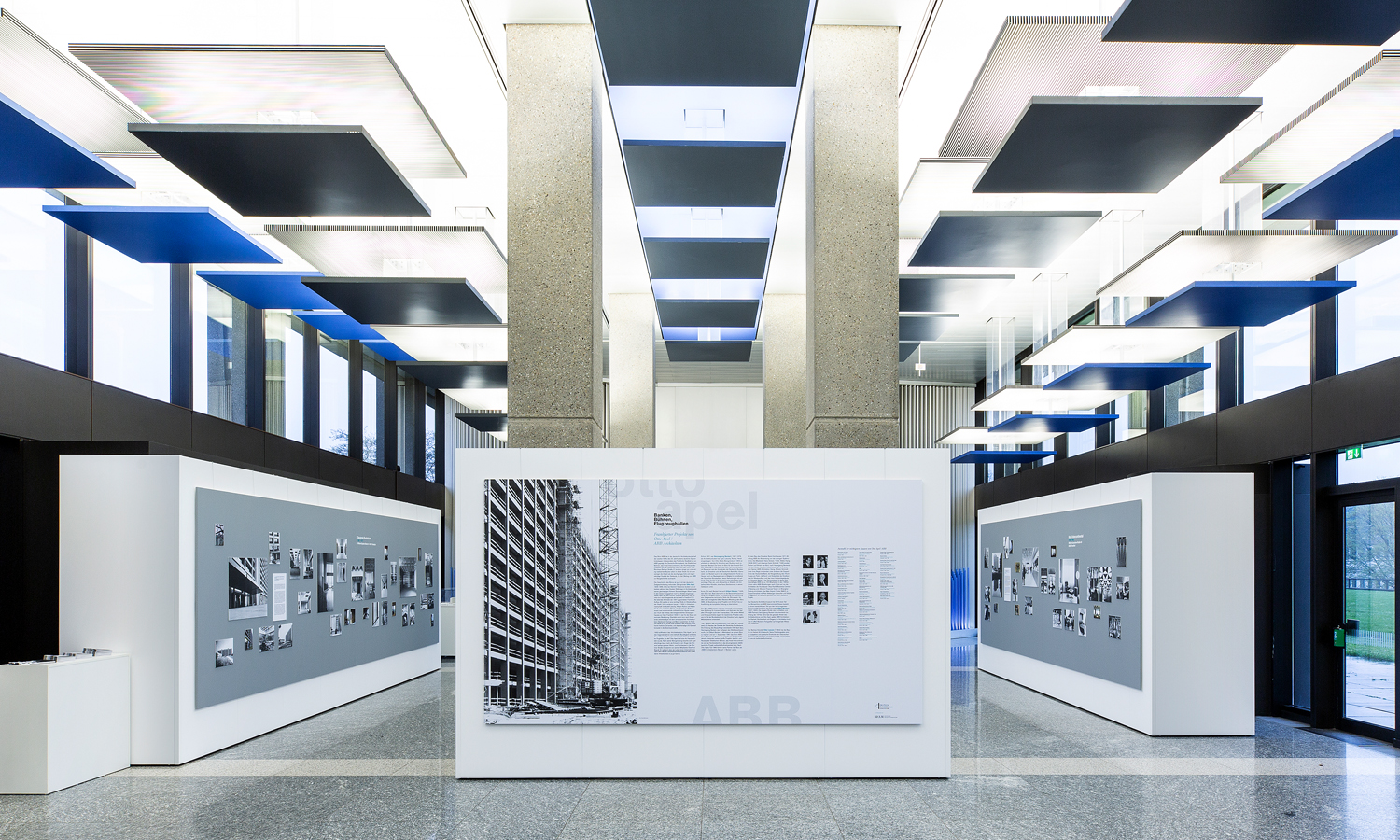 Mila-wall wall modules in the Deutsche Bundesbank in Frankfurt