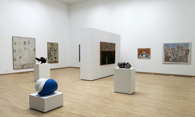 Utilisation des cloisons modulaires Mila-wall au Musée d'art contemporain de Belgrade