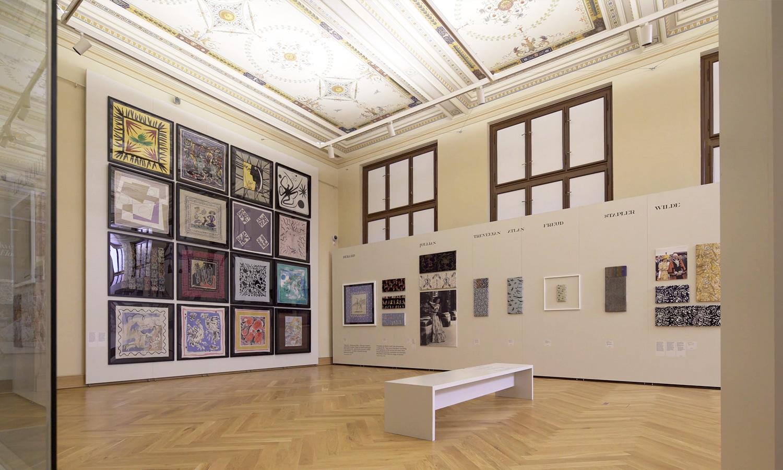 Mila-wall Wandmodul im Kunstgewerbemuseum in Prag