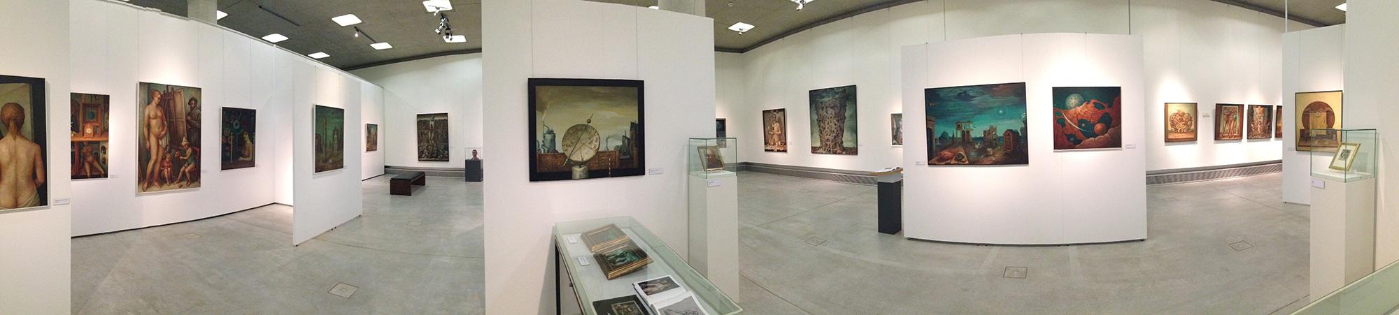 Salles d'exposition Mila-wall au grand angle du Musée d'archéologie de Herne
