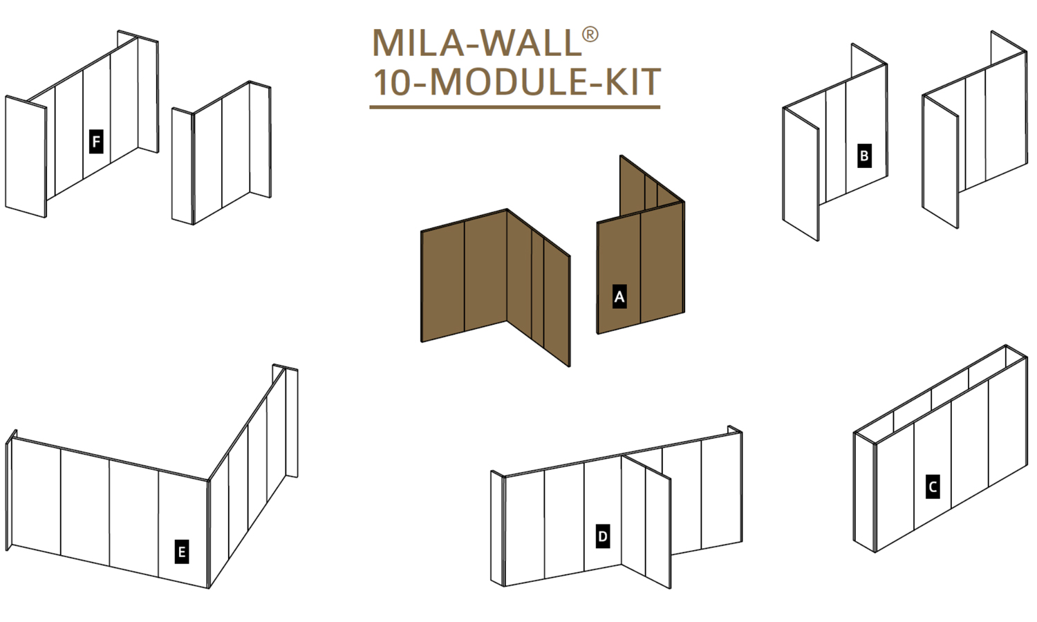 Skizze MBA Mila-wall Kit 10