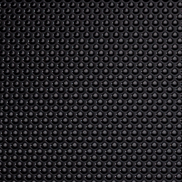 Surface film 3D-structur matt black with dot embossing