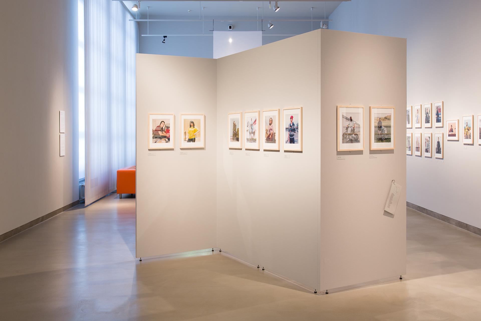 Ausstellungsarchitektur mit Mila-wall Stellwänden in einem Museum